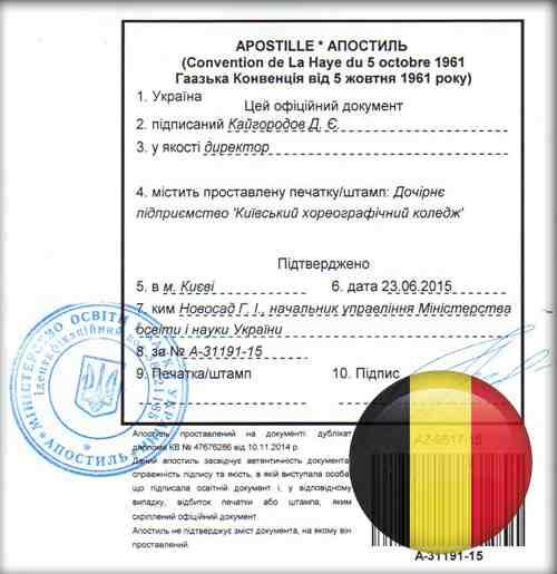 процедура банкротства бельгии