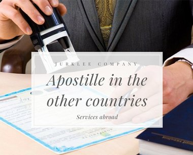Put the Apostille abroad