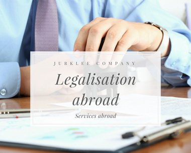 Legalization of documents abroad